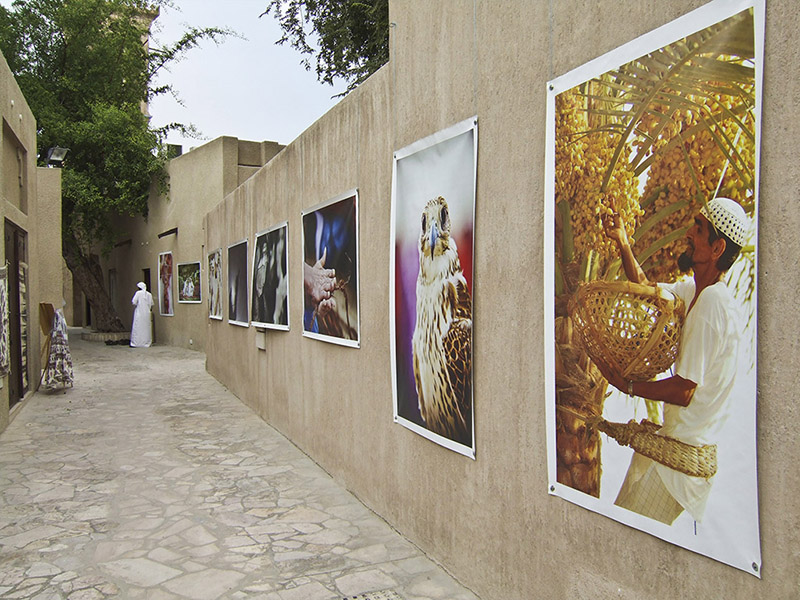 The lanes of Al-Bastikya are lined with artists shops