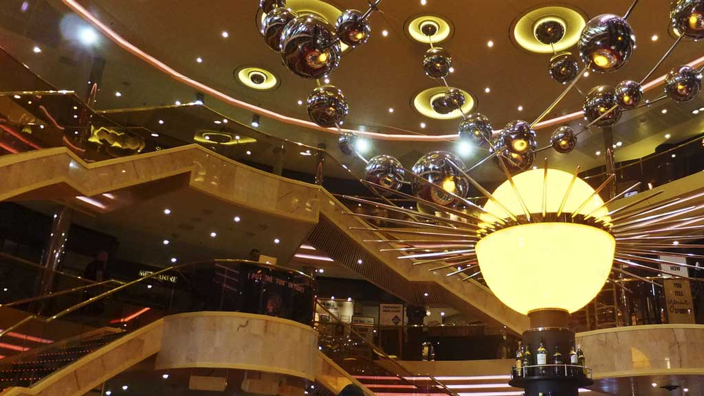 Atrium on Carnival Sunshine